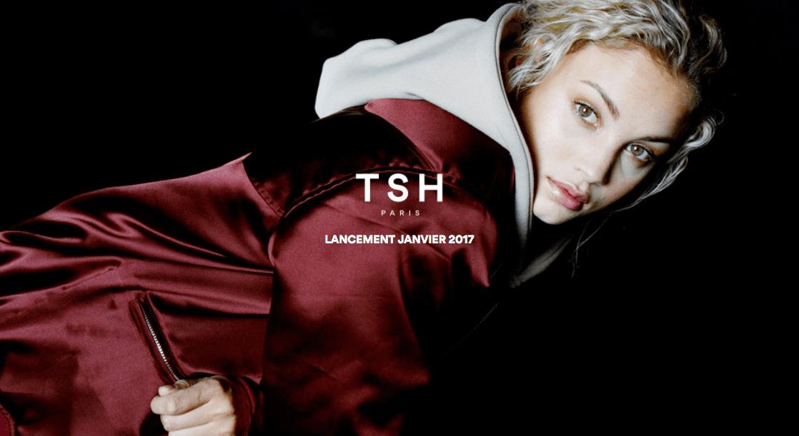 visuel de la marque TSH Paris réalisé par Arno Ché