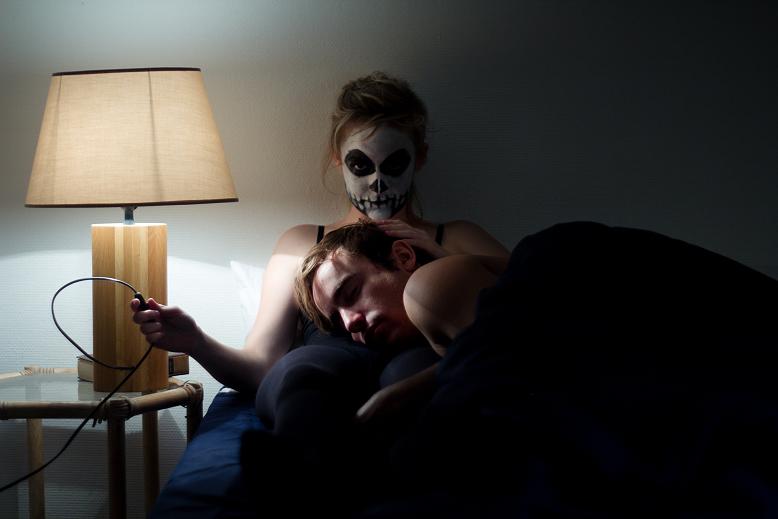"""Photographie """"la mort aux basques"""" 1 réalisée par Allison Si"""