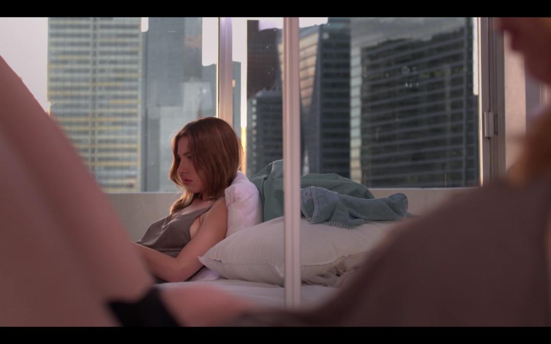 Extrait du clip vidéo de Dj Pone, intitulé Slow motion et réalisé par Romain Winkler
