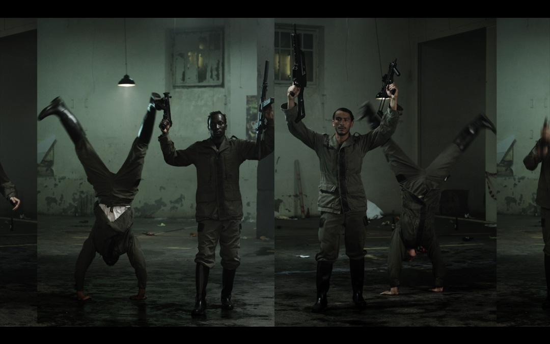Extrait du clip Vilaine réalisé par Romain Winkler