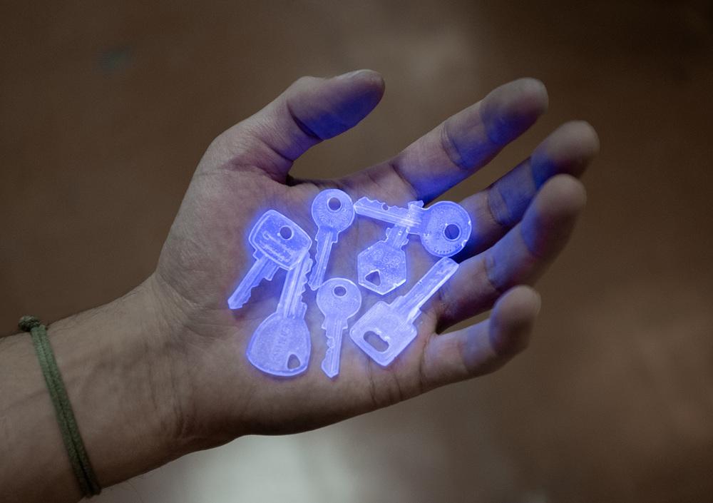 L'oeuvre ghost keys réalisée par jonathan bréchignac