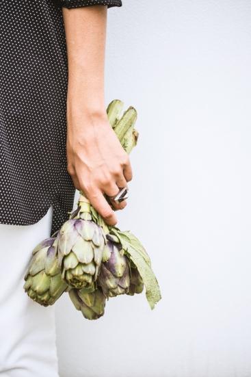 Photo fashion légumes réalisée par Pierre Lucet Penato