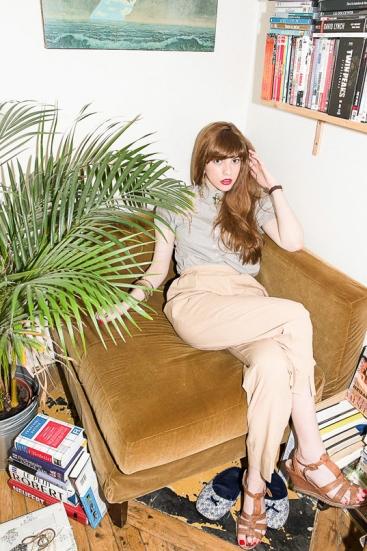 Photo Portraits femme salon réalisée par Pierre Lucet Penato
