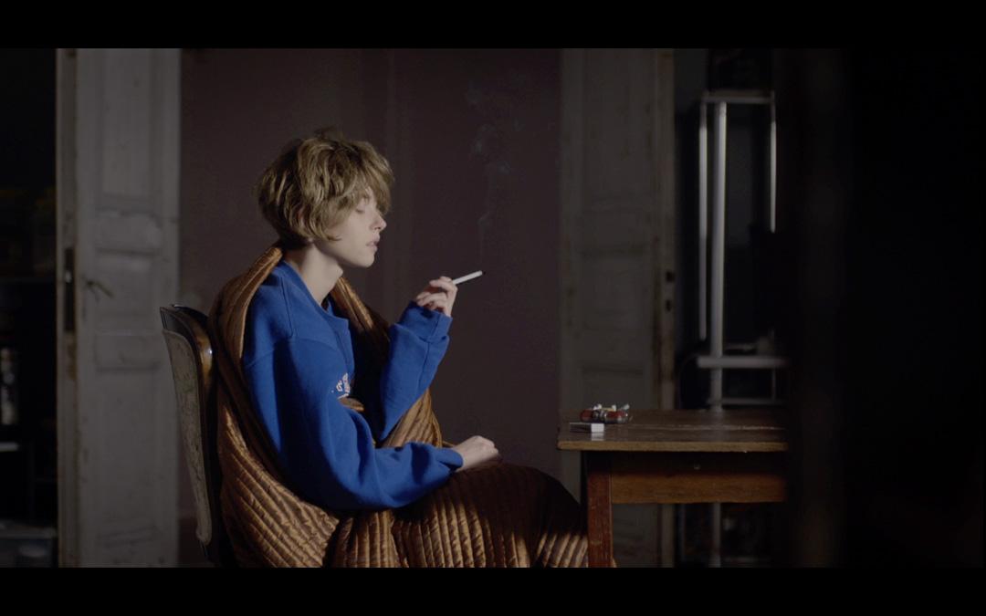 Extrait d'Interieur nuit, clip réalisé par Romain Winkler