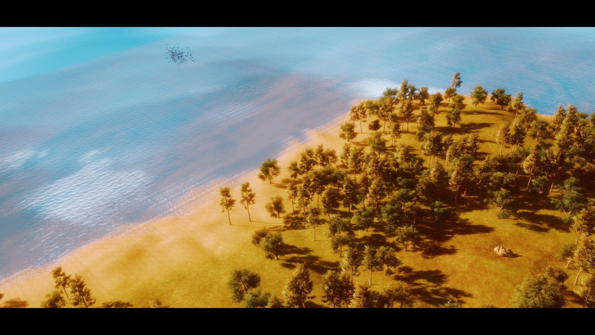 nature 5 en réalité virtuelle réalisée par Angelo Yoto