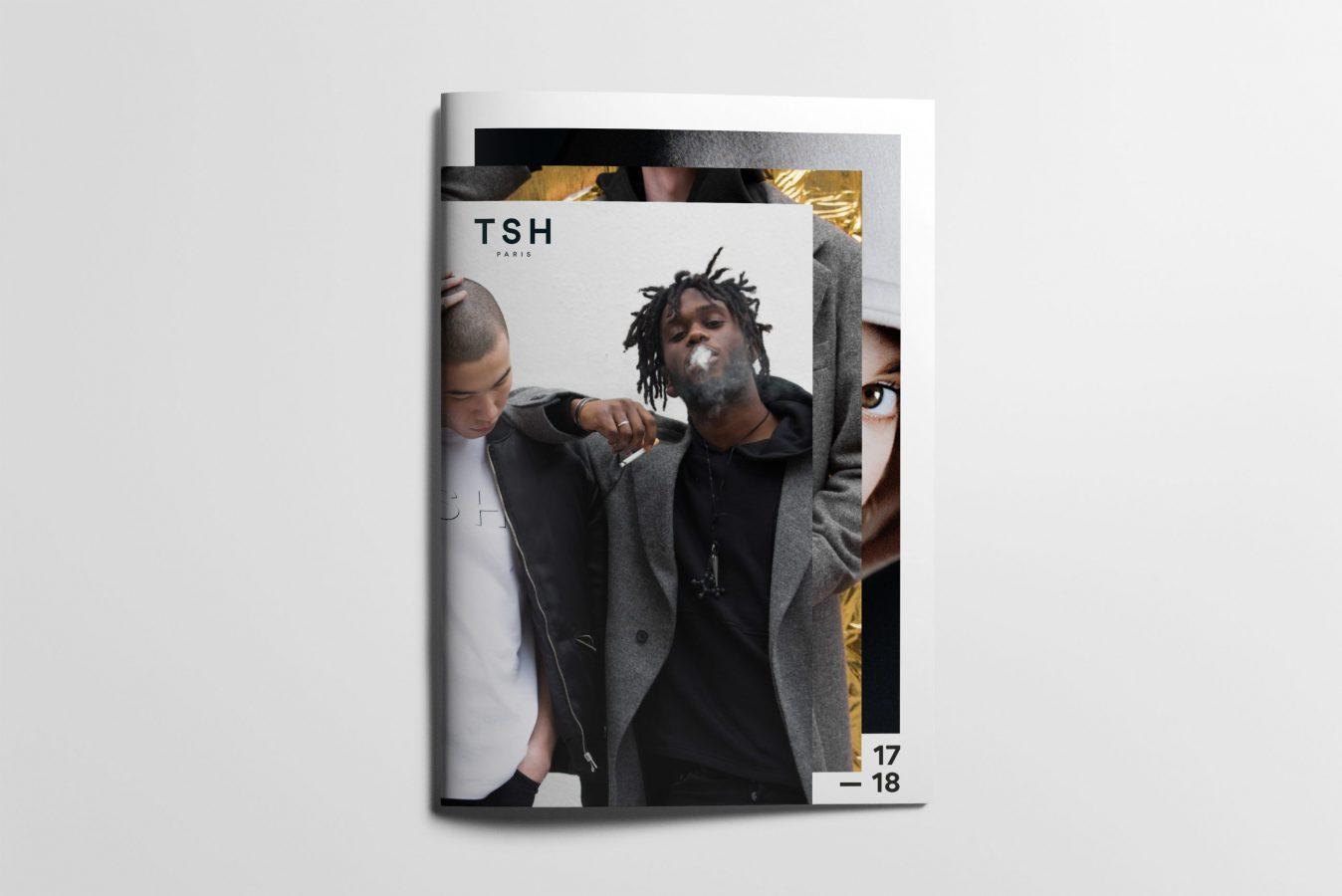 Book de la marque TSH Paris réalisé par Arno Ché