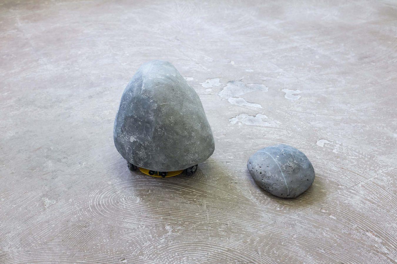 L'oeuvre sailing stone 2 réalisée par jonathan bréchignac